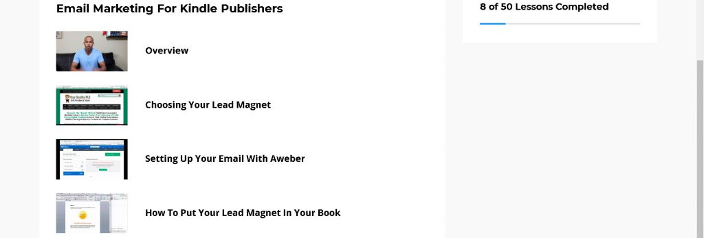 email marketing for kindle publishers