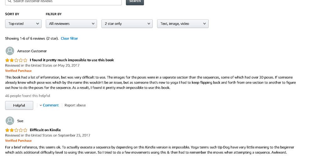 2-star-reviews-in-a-Kindle-bookjpg