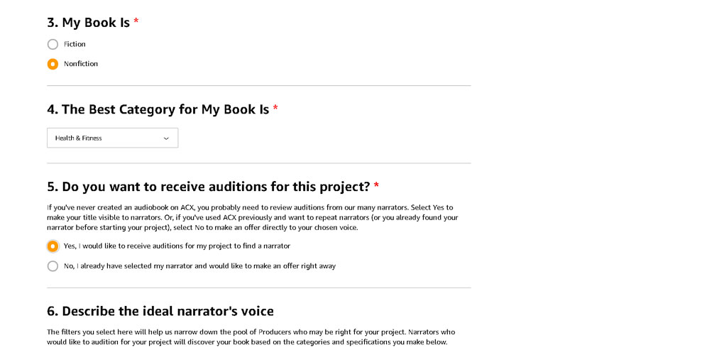 category-for-your-acx-audiobook