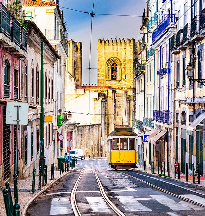 tram Lisbon city