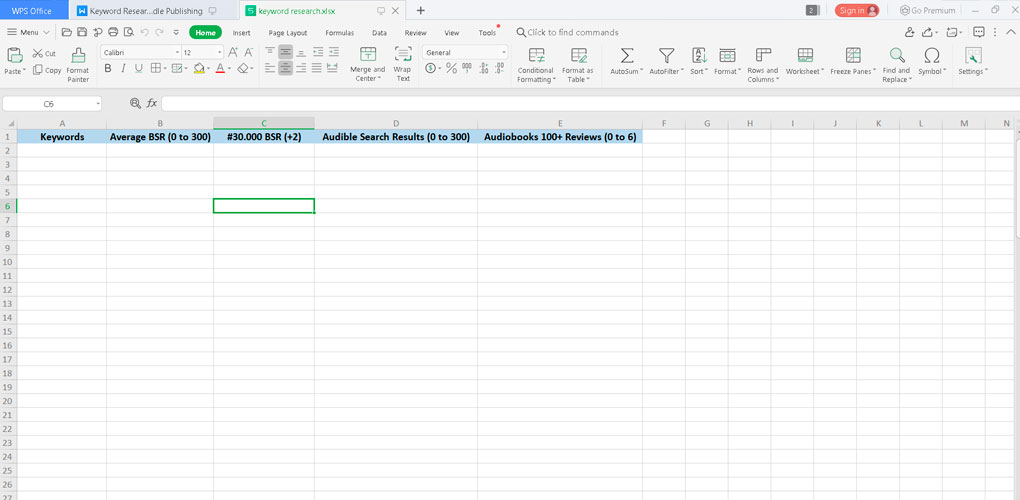 Kindle-Keyword-Research-Spreadsheet