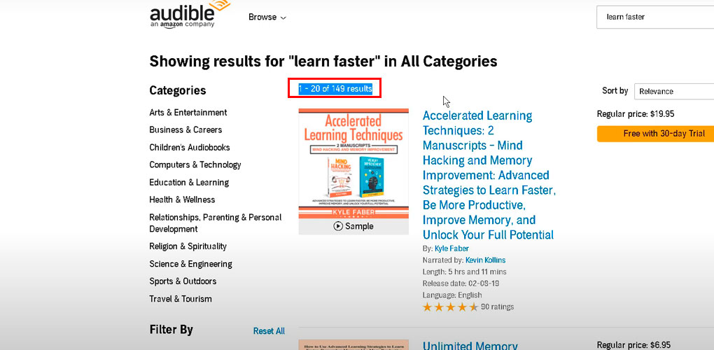 number-of-book-results-in-audible