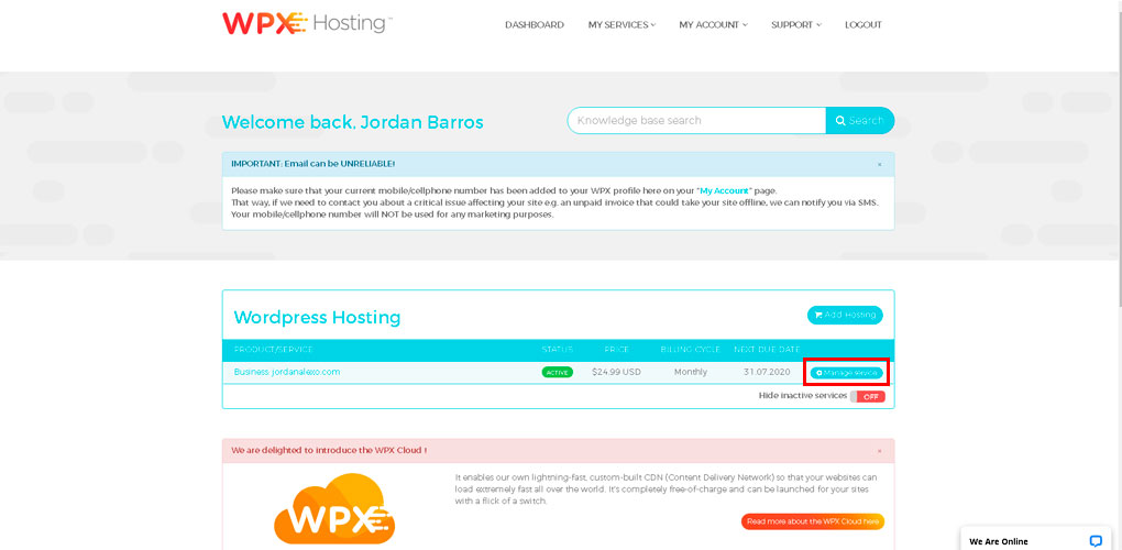 wpx-hosting-manage-service-