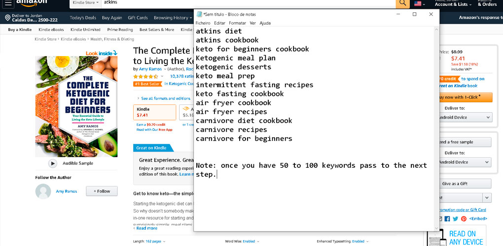 notepad-keyword-listing