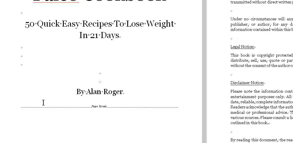 page-break-on-the-front-page-of-your-cookbook