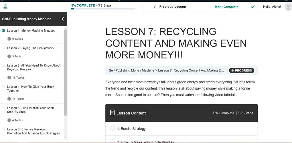 self-publishing-money-machine-recycling