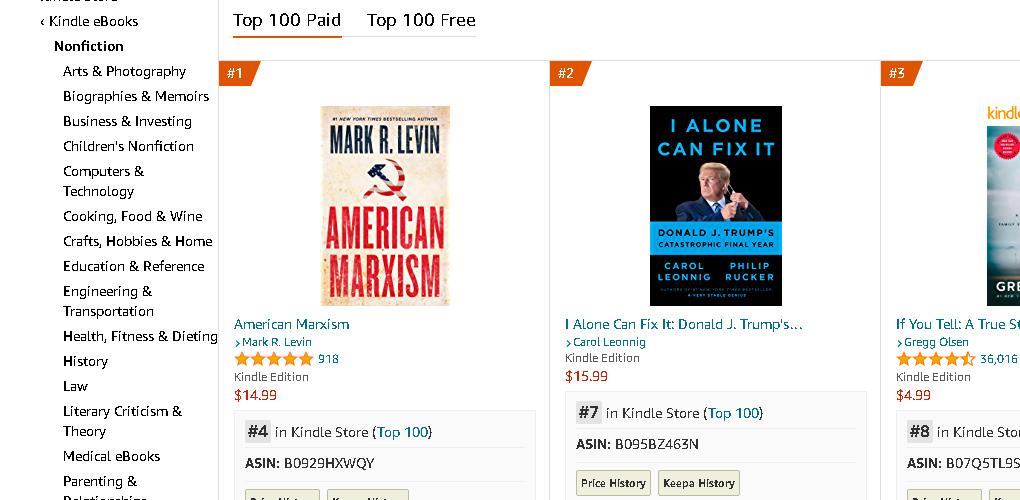 amazon-free-course---best-seller-list-nonfiction-categories